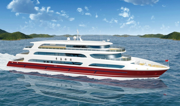 Qingdao to get first luxury cruise ship next year china for High end cruise ships