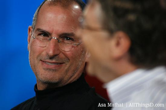 Steve Jobs (L) and Bill Gates [File photo]