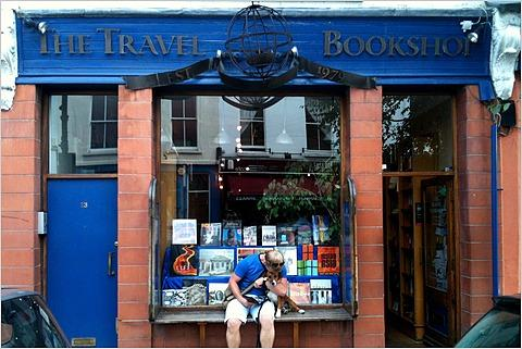 This is the bookshop that inspired the film Notting Hill. Or at least, it was.