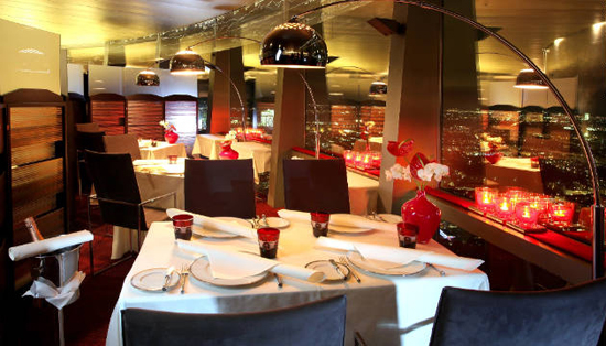 Restaurant 181: Munich, one of the 'top 10 world's revolving restaurants' by China.org.cn.