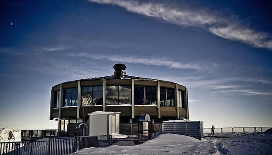 Drehrestaurant Allalin: Saas-Fee, Switzerland, one of the 'top 10 world's revolving restaurants' by China.org.cn.