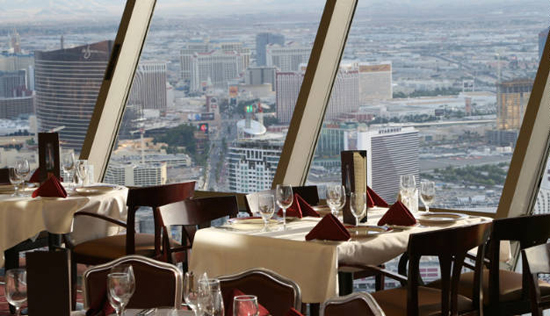 Top of the World: Las Vegas, one of the 'top 10 world's revolving restaurants' by China.org.cn.