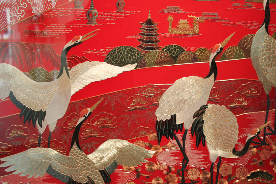 Chinese Embroidery Art Exhibition In Beijing - China.org.cn