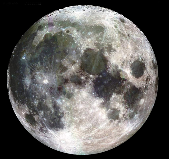 Moon, one of the 'top 10 alien worlds similar to earth' by China.org.cn.