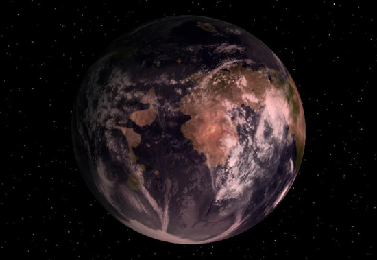Gliese 581 c, one of the 'top 10 alien worlds similar to earth' by China.org.cn.