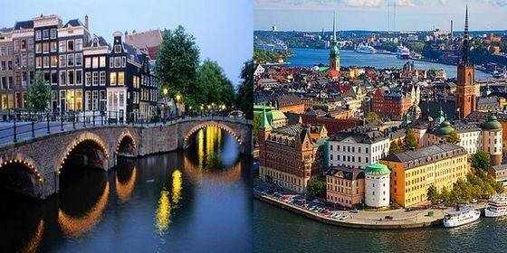 Top 25 cities with best living standards