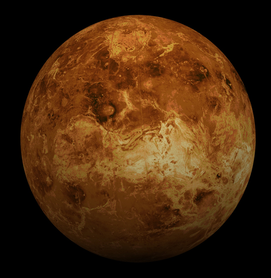 Venus, one of the 'top 10 livable alien worlds' by China.org.cn.