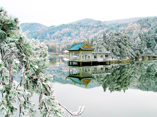 Lushan Mountain,one of the 'Top 5 December destinations in China' by China.org.cn.