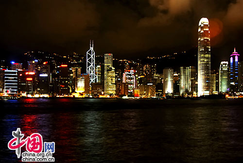 Hong Kong,one of the 'Top 5 December destinations in China' by China.org.cn.