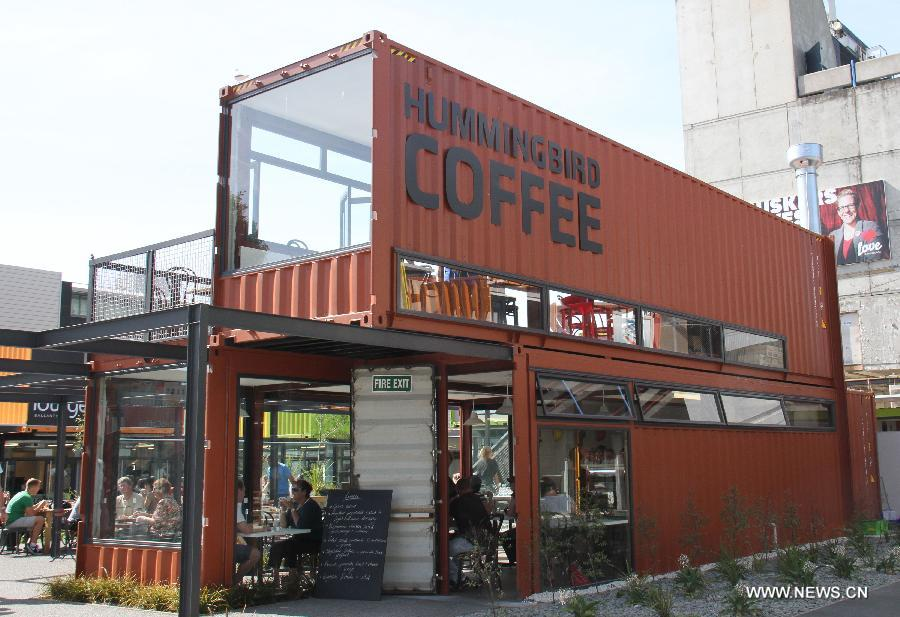 Shopping Mall Built With Shipping Containers Appears In
