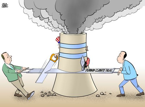 Uncle Sam's chimney [By Jiao Haiyang/China.org.cn]