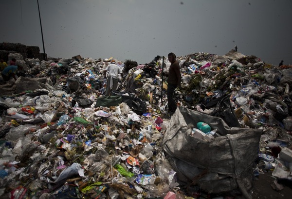 Bordo Poniente, the largest landfill in Mexico City [File photo]