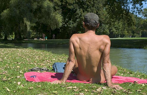 Englischer Garten, one of the 'Top 8 best places to get naked' by China.org.cn.