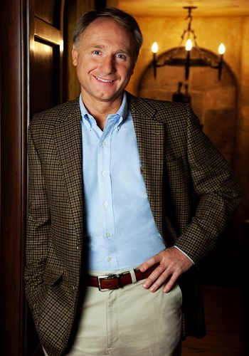 Dan Brown, one of the 'Top 15 most marketable foreign writers in China' by China.org.cn.