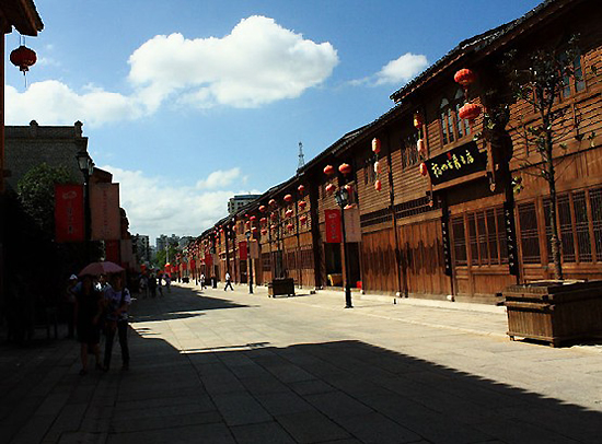 Three Lanes and Seven Alleys in Fuzhou, one of the 'top 10 ancient streets in China' by China.org.cn.