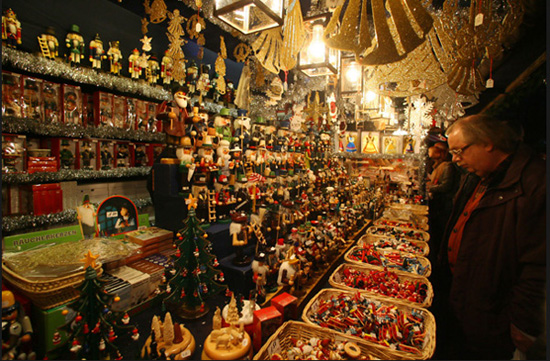 Nuremberg,one of the 'Top 10 great places to spend Christmas' by China.org.cn.