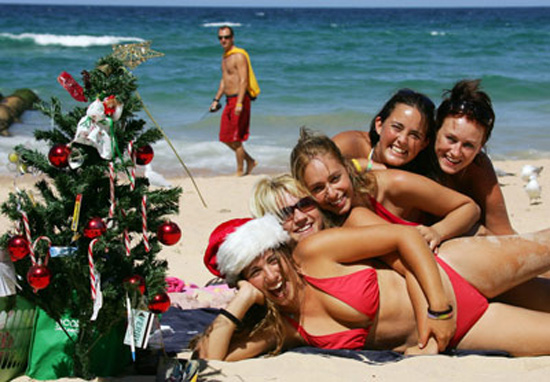 Sydney,one of the 'Top 10 great places to spend Christmas' by China.org.cn.