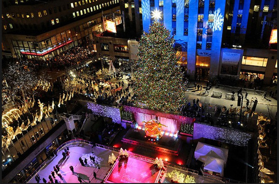 New York City,one of the 'Top 10 great places to spend Christmas' by China.org.cn.