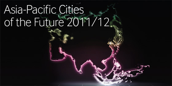 Top 10 Asia-Pacific cities of the future 2011/12