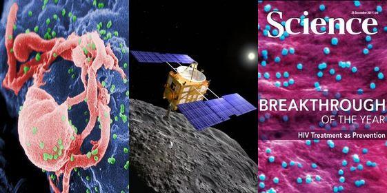 Top 10 scientific breakthroughs in 2011
