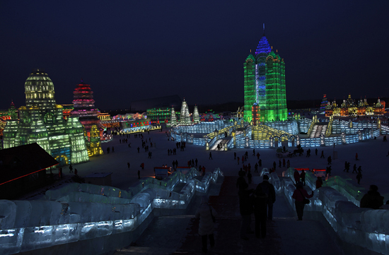 Harbin, one of the 'Top 5 January destinations in China' by China.org.cn.