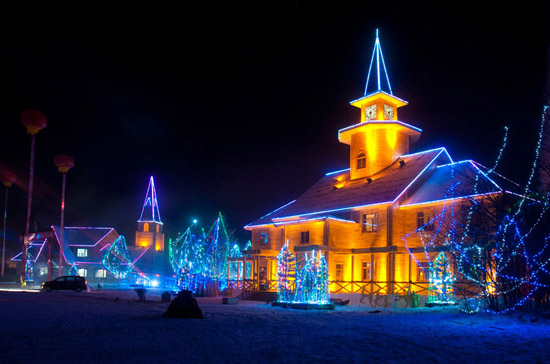 Mohe Arctic Village, one of the 'Top 5 January destinations in China' by China.org.cn.