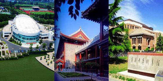 Top 100 Chinese universities 2012