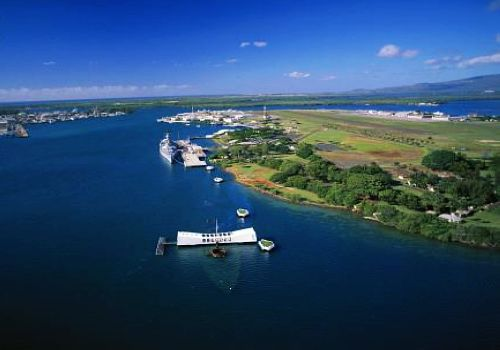 Pearl Harbor, Oahu, Hawaii, one of the 'Top 7 places to visit in 2012'.