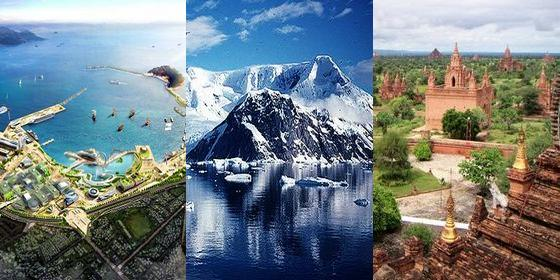 Top 7 places to visit in 2012