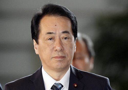 Naoto Kan, one of the 'Top 12 male faces of the year 2011'.