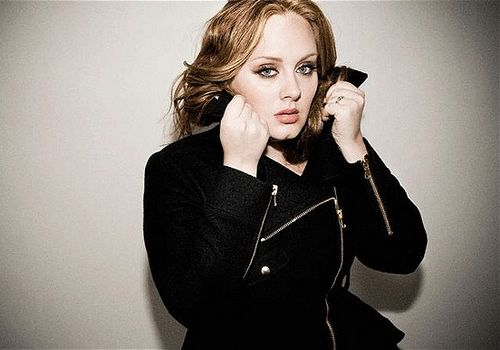 Adele Adkins, one of the 'Top 12 female faces of the year 2011'.