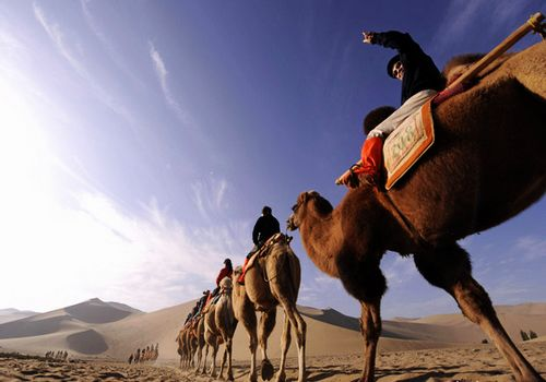 Dunhuang, Gansu Province, one of the 'Top 10 authentic China trips for 2012'.