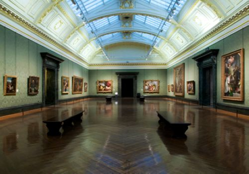 National Gallery, London, one of the 'Top 10 most-visited museums in the world'.