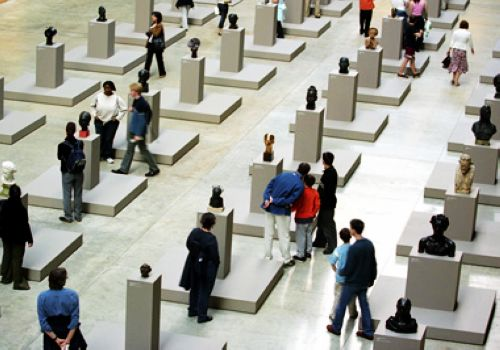 Tate Modern, London, one of the 'Top 10 most-visited museums in the world'.