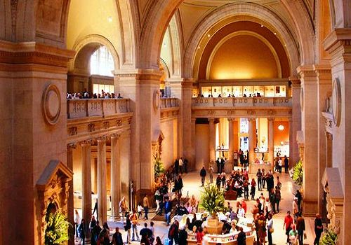 Metropolitan Museum of Art, New York City, one of the 'Top 10 most-visited museums in the world'.
