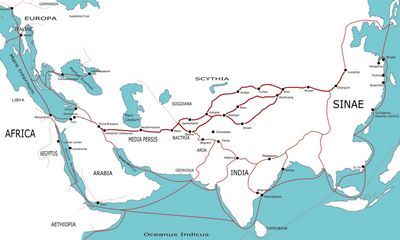China and turkey building a new silk road together china old silk road 1st century file photo gumiabroncs Choice Image