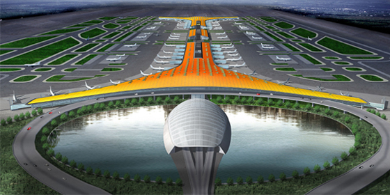Top 10 airports on Chinese mainland