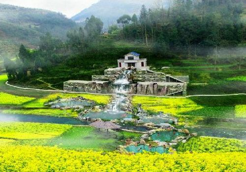 Sinan County, Huizhou Province, one of the 'Top 25 spa destinations in China' by China.org.cn.