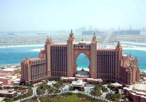 Atlantis Hotel, Dubai, United Arab Emirates, one of the 'Top 10 ugliest buildings in the world' by China.org.cn.