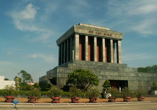 Ho Chi Minh Mausoleum, Hanoi, Vietnam, one of the 'Top 10 ugliest buildings in the world' by China.org.cn.