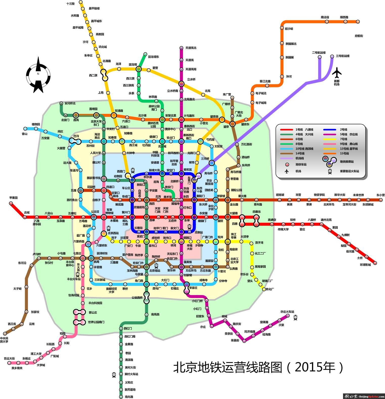 Beijing to construct more subway lines, regional roads - China.org.cn