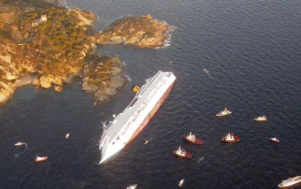 Dead Injured In Italys Ship Accident Chinaorgcn - Cruise ship fatalities