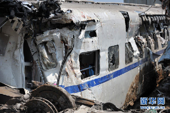 A deadly high-speed train crash occured in July, killing at least 40 passengers. [File photo]