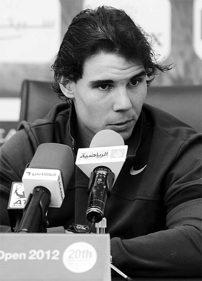 Nadal makes a weighty decision