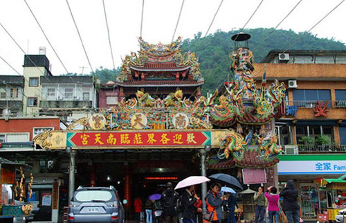 Suao Nantian Temple,one of the 'Top 10 temples for Spring Festival prayers' by China.org.cn.