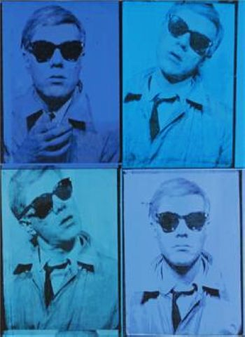 Andy Warhol's Self-Portrait, one of the 'Top 10 highest priced artworks sold in 2011' by China.org.cn.