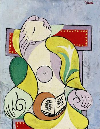 Pablo Picasso's La lecture, one of the 'Top 10 highest priced artworks sold in 2011' by China.org.cn.