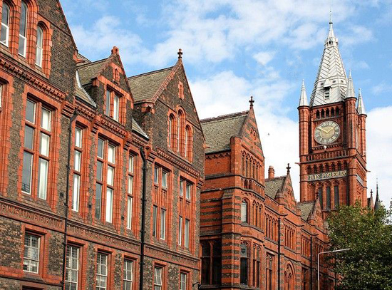 University of Liverpool, one of the 'top 20 UK universities in 2011' by China.org.cn.