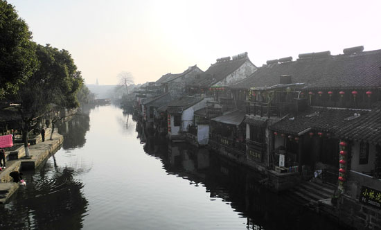 Xitang Ancient Town, one of the 'Top 8 February destinations in China' by China.org.cn.