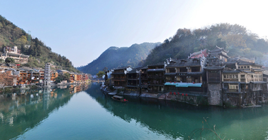 Fenghuang Ancient Town, one of the 'Top 8 February destinations in China' by China.org.cn.